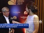 Kembangkan Digitalisasi, Bank BJB Raih CNBC Indonesia Award