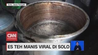 VIDEO: Es Tes Manis Viral di Solo