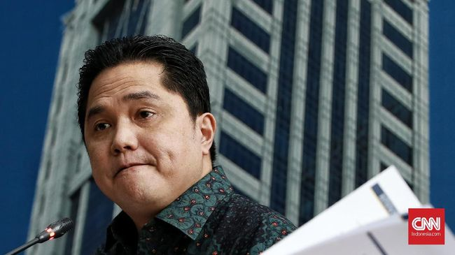 Erick Thohir Buka-bukaan Masalah Jiwasraya ke DPR