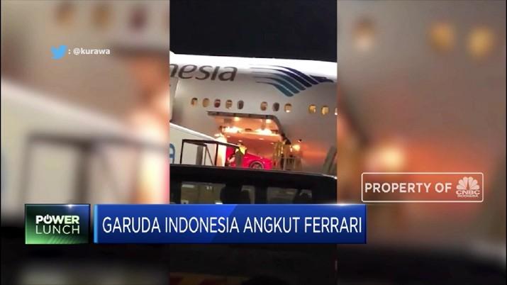 BUMN Tunggu Investigasi Penampakan Viral Ferrari di Garuda