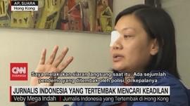 VIDEO: Jurnalis Indonesia Yang Tertembak Mencari Keadilan