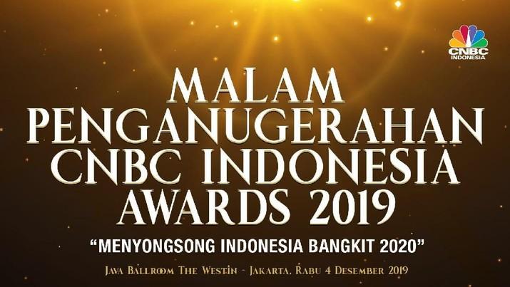 CNBC Indonesia, menggelar malam penganugerahan CNBC Indonesia Awards 2019.