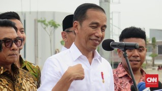 Jokowi Minta Laporan Kasus Novel Baswedan ke Kapolri Senin