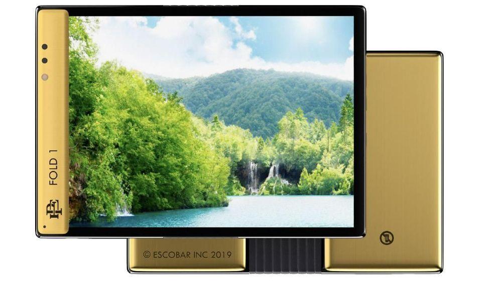 Roberto Escobar, adik mendiang raja narkotika dunia asal Kolombia, Pablo Escobar, baru saja meluncurkan sebuah ponsel layar lipat bernama Escobar Fold 1.