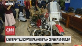 VIDEO: Penyeludupan Barang Mewah di Garuda