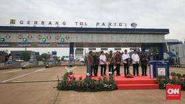 Resmikan Tol Kunciran-Serpong, Jokowi Ingin Kerek Daya Saing