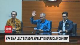 VIDEO: KPK Siap Usut Skandal Harley di Garuda Indonesia