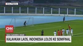 VIDEO: Kemenangan Timnas Atas Laos Lampaui Target