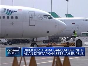 Sah!, Fuad Rizal Ditunjuk Plt Dirut Garuda