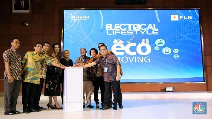 PT Bank Rakyat Indonesia Tbk (BBRI) mendukung program trade motor listrik yang dilakukan PT PLN (Persero).