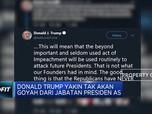 Trump Yakin Tak Akan Tergeser dari Kursi Presiden AS