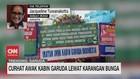 VIDEO: Curhat Awak Kabin Garuda Lewat Karangan Bunga