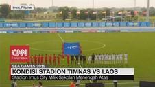 VIDEO: Kondisi Stadion Timnas vs Laos