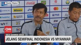 VIDEO: Indra Sjafri Optimis Hadapi Pertandingan Semifinal