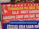 Dirut Dipecat, BUMN Banjir Karangan Bunga Karyawan Garuda