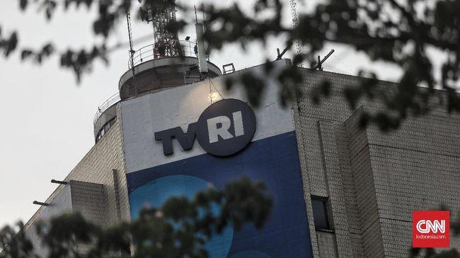 Karyawan TVRI Gelar Aksi Kain Hitam Protes Pemecatan Helmy