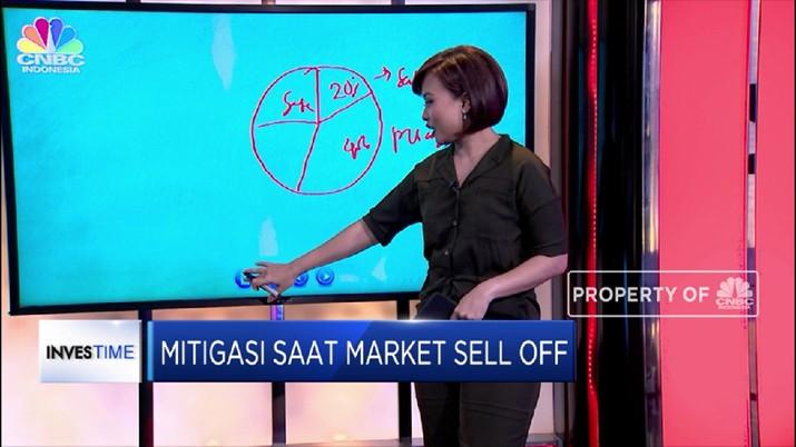 Market mengalami sell off atau turun saat terjadi penjualan efek secara masif di pasar.