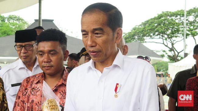 Ke Waduk Pluit, Jokowi Mau Pastikan Pusat Bisnis Bebas Banjir