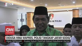 VIDEO: Diduga Hina Wapres, Jafar Sodiq Ditangkap Polisi