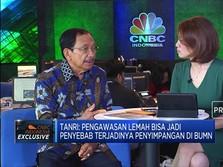 Tanri Abeng:  Erick Thohir Pecat Dirut Garuda Itu Sudah Tepat