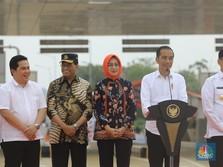 Jokowi Dukung Erick Thohir Pecat Dirut Garuda