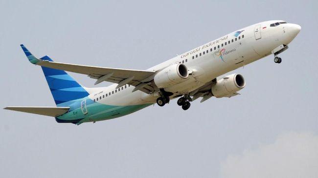 Garuda Geser Rute Penerbangan Hindari Ruang Udara Iran