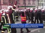 Dilanda Aksi Mogok, Prancis Lumpuh