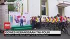VIDEO: Gowes Kebangsaan TNI-Polri