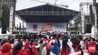 Gema Projo Kawal Pemerintahan Jokowi-Ma'ruf di Kemayoran