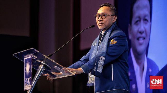 Zulkifli Hasan Terpilih Jadi Ketua Umum PAN 2020-2025