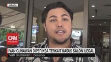 VIDEO: Polisi Periksa Ivan Gunawan Terkait Kasus Salon Ilegal