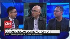 VIDEO: Asep: Mahkamah Agung Hasilkan Diskon Vonis Koruptor