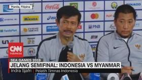 VIDEO: Jelang Semifinal Indonesia Vs Myanmar