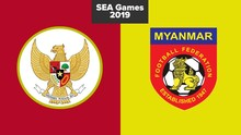 LIVE REPORT: Indonesia vs Myanmar di SEA Games 2019