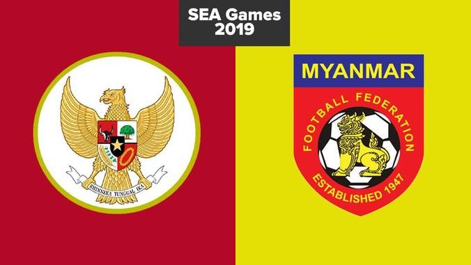 LIVE REPORT: Indonesia vs Myanmar di SEA Games 2019