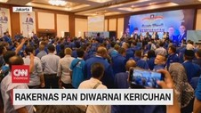 VIDEO: Rakernas PAN Diwarnai Kericuhan