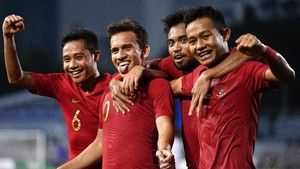 FOTO: Kalahkan Myanmar, Indonesia ke Final SEA Games 2019