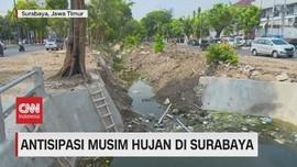 VIDEO: Antisipasi Musim Hujan di Surabaya
