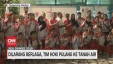 VIDEO: Dilarang Berlaga, Tim Hoki Pulang ke Tanah Air