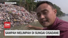 VIDEO: Sampah Melimpah di Sungai Cisadane