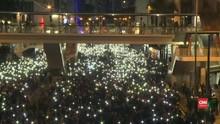 VIDEO: Demonstran Peringati Enam Bulan Unjuk Rasa Hong Kong