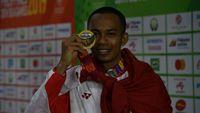 Tak Puas Emas SEA Games, Sapwaturrahman Incar Tiket Lolos ke Olimpiade