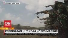 VIDEO: Lomba Menembak Korps Marinir Pecahkan Rekor MURI