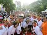 Melihat Gaya Santuy Iriana Jokowi Peringati Hari Ibu di GBK
