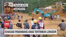 VIDEO: Evakuasi Penambang Emas Tertimbun Longsor