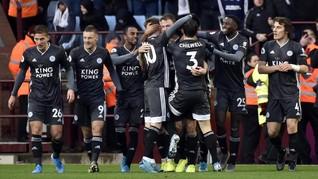 Hasil Liga Inggris: Leicester Jaga Jarak dengan Liverpool