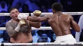 Joshua Rebut Kembail Gelar Juara Dunia Kelas Berat dari Ruiz
