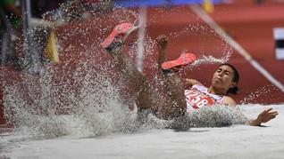 Maria Londa Tambah Emas Indonesia di SEA Games 2019