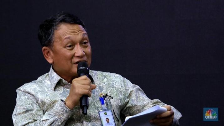 Menteri ESDM Arifin Tasrif (CNBC Indonesia/Muhammad Sabki)