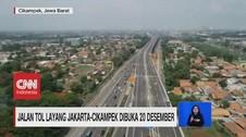VIDEO: Jalan Tol Layang Jakarta-Cikampek Dibuka 20 Desember